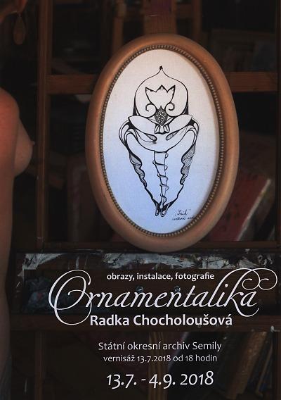 Ve státním archivu otevřou výstavu Ornamentalika