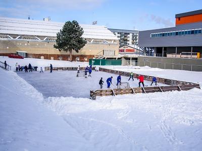 Ve Sport Parku Liberec si můžete zabruslit zdarma pod širým nebem