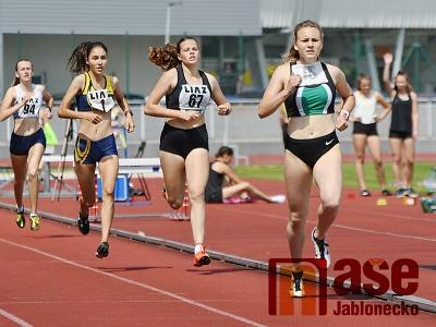 Bára Hůlková vyhrála v Liberci sprinterský trojboj