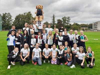 Atletická družstva mladšího žactva měla krajské finále v Turnově