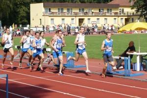 Šampionátu se účastnili pouze dva turnovští běžci
