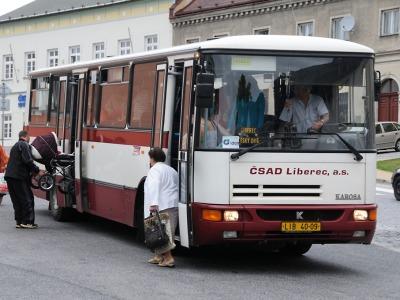 Dopravu na Liberecku a Frýdlantsku zajistí společnost ČSAD Liberec