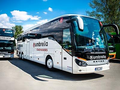 Autobusy na Jablonecku má v únoru 2021 převzít společnost Umbrella