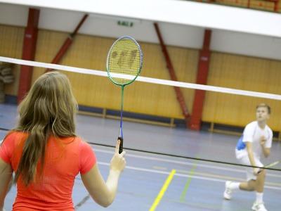 V semilském sportovním centru se hraje i badminton