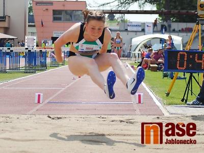 Bára Hůlková byla v dálce jen dva centimetry od bronzové medaile