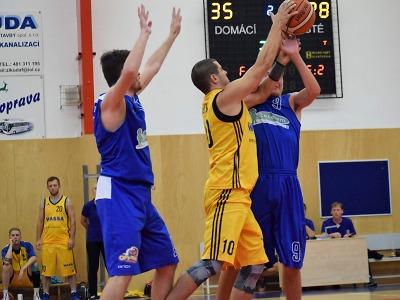 Turnovští basketbalisté zdolali Trutnov, ale nestačili na Novou Paku