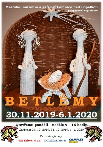 Betlémy v muzeu Lomnice nad Popelkou již poosmnácté