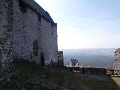 Na hradě Bezděz zpřístupní dlouhodobě uzavřený Templářský palác