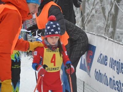 Krajský pohár lyžařů pokračoval druhým závodem na Benecku