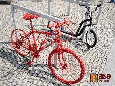 Na semilském náměstí se objevila nezvyklá jízdní kola