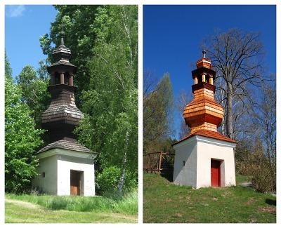 O Památku roku se uchází také obnovená zvonice v Bítouchově