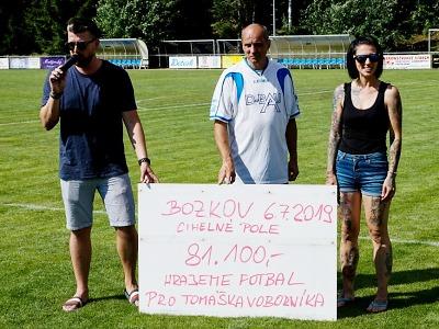 FOTO: Zápas v rámci bozkovské pouti přinesl 81 tisíc pro Tomáška