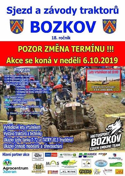 Fanoušci traktorů se chystají na 18. sjezd do Bozkova