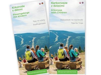 Nová brožurka Krkonoše s dětmi obsahuje tipy na rodinné výlety