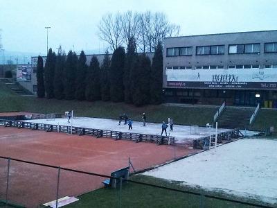 Ve Sport Parku Liberec se opět bruslí pod širým nebem