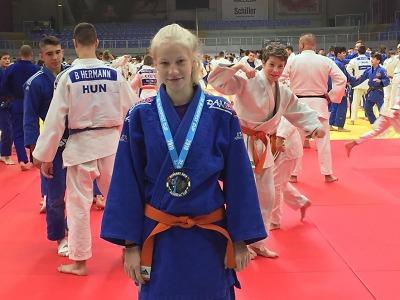 Kateřina Burešová stříbrná na Mezinárodním turnaji v Budapešti