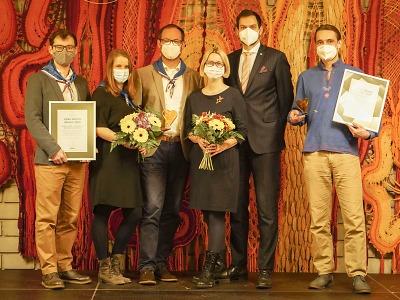 Cenu města Semily za rok 2020 získali Karel Redlich a skauti