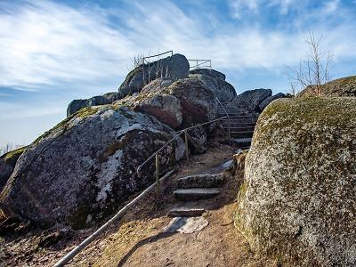 Tip na výlet v našem kraji, tentokrát na Čertovy kameny u Josefova Dolu