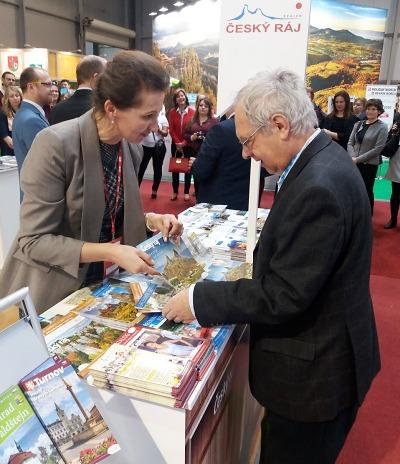 Český ráj a Turnov prezentovali na veletrhu Holiday World 2020