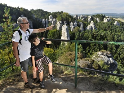 Český ráj se u návštěvníků těší stále větší oblibě