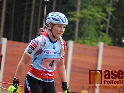 Lucie Charvátová získala na MS v letním biatlonu už druhou medaili!