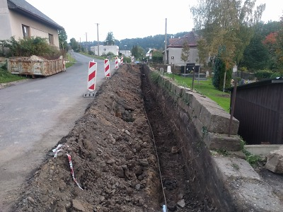 V Semilech probíhají stavební práce v Benešovské a Jílovecké ulici