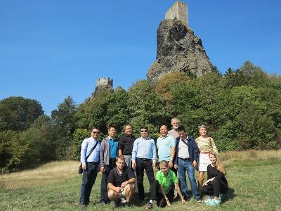Český ráj navštívila delegace z čínského geoparku