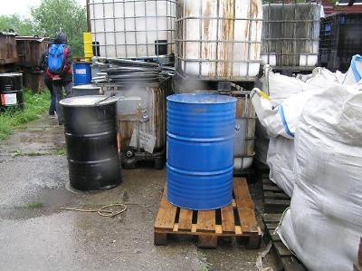 Společnost Ekosev skladovala v Jilemnici nezabezpečené odpady