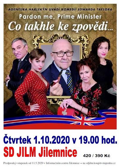 Petr Nárožný se představí v anglické satiře jilemnickým divákům