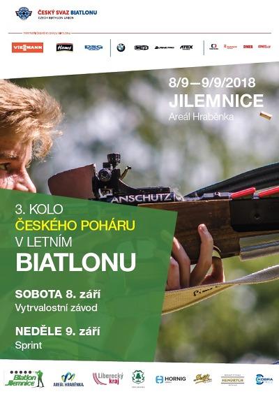 Na Hraběnce se utkají biatlonisté ve 3. kole Českého letního poháru