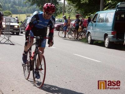 Jiří Šorm je vítězem dalšího závodu Jičínské cykloligy