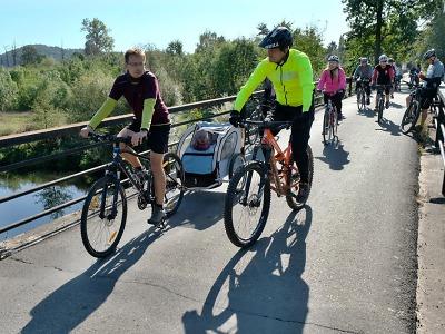 Cyklojízda Greenway Jizera 2019 vedla mezi Turnovem a Svijany