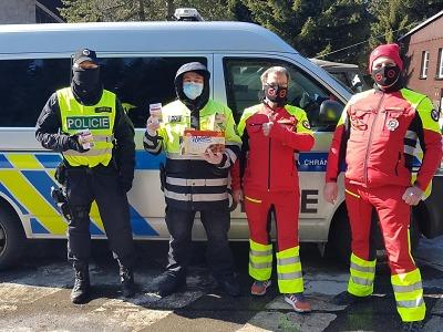 Czech Sar Team se stavil na hranicích v Harrachově