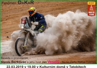 Fenomén Dakar přijede do Tatobit
