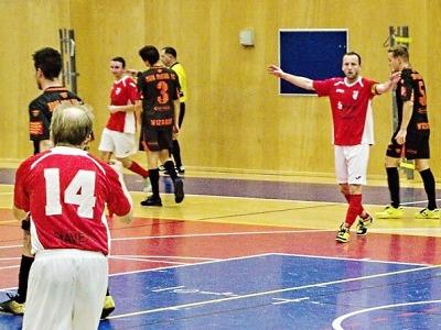 Futsalisté Dalmachu vybojovali v Praze proti Wizards bod za remízu