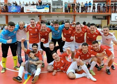 Hráči Dalmachu Turnov jsou vítězi futsalové divize A!