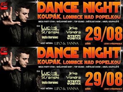 Čtyři výherci získali vstupenky na Dance Night Koupák!