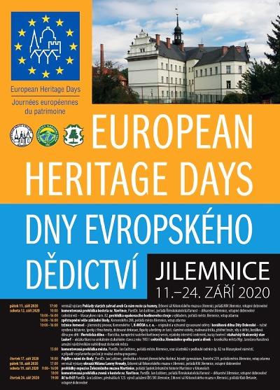 Dny evropského dědictví 2020 v Jilemnici zahájí vernisáží