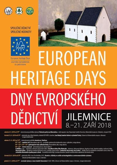 Program Dnů evropského dědictví v Jilemnici 2018
