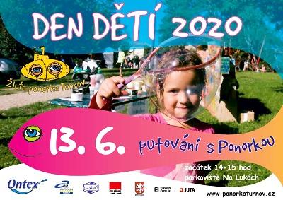Den dětí 2020 bude v Turnově až 13. června!