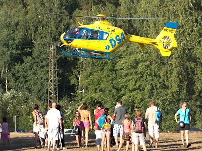Neštěstí na koupališti v Lomnici zabránili přítomní lidé