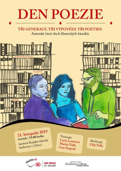 Festival Den poezie proběhne i v Libereckém kraji