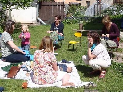 V Jílovecké ulici v Semilech si malí i velcí užili Den pro rodinu