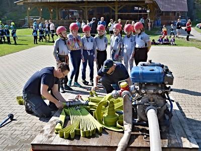 Obrazem: Dětská hasičská soutěž v Košťálově