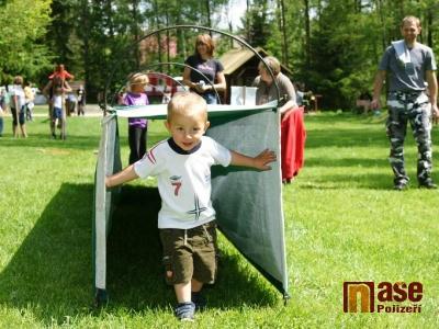Na dětský den připravili v Bozkově bohatý program