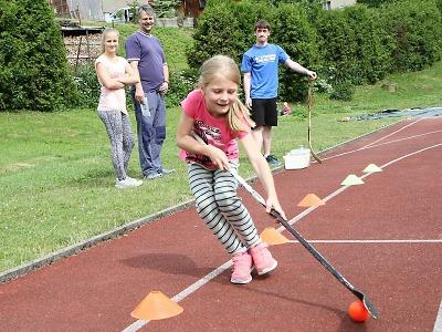 Obrazem: Sportovní dětský den s HC Stadion Vrchlabí