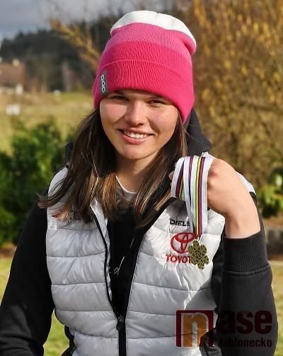 Mladá naděje na zimní olympiádu 2022 jezdí na Tanvaldském Špičáku