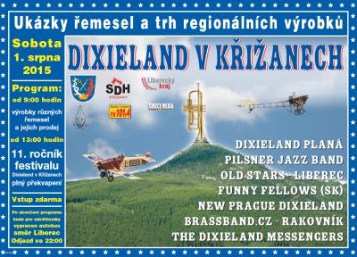 Křižany rozezní tradiční festival dixielandů