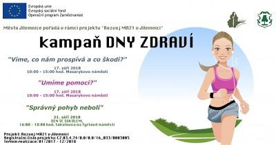 Program Týdne mobility a Dnů zdraví v Jilemnici
