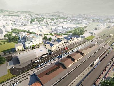 Liberecký kraj a Liberec pokračují v přípravě terminálu veřejné dopravy